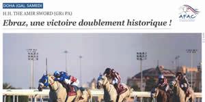 results horses Saubouas stud